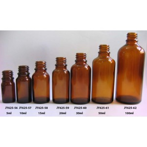 Amber Essential Oil Bottles