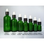 5ML-100ML Green Essential Oil Bottles With Dropper