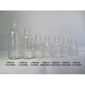 Clear Essential Oil Bottles