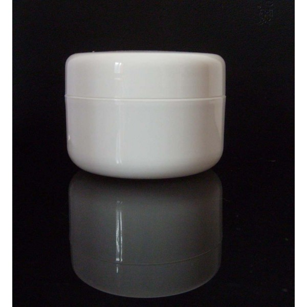 200g White Plastic Jar 200ml White Cream Jar 200g Jars
