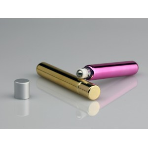 10ml glass roll on bottle With UV Coating