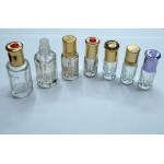 3ml Octagonal Glass Roll-on Bottle For Perfumes